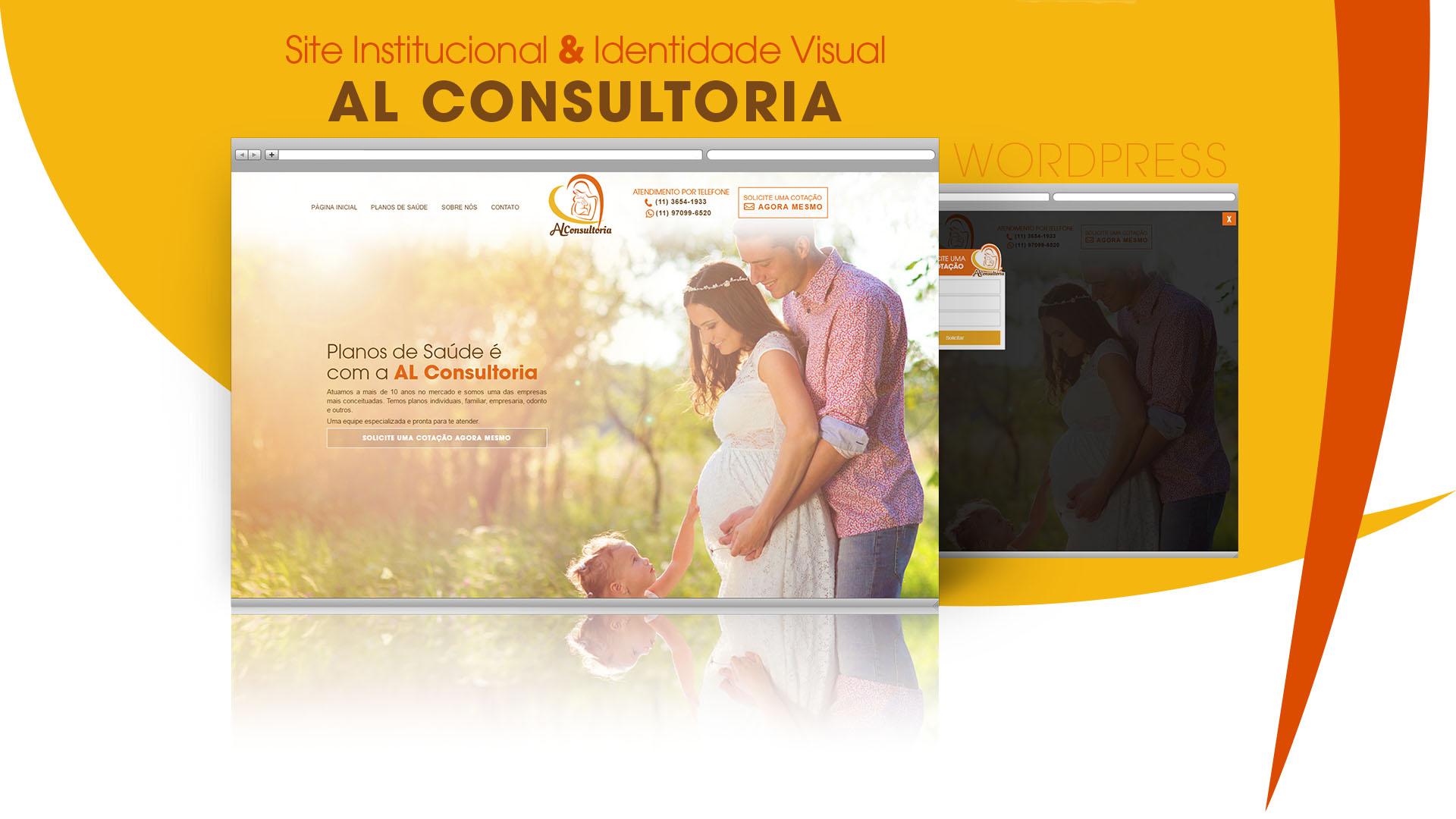 Site AL Consultoria em Planos de Saúde