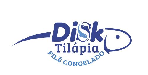 Logotipo Disk Tilápia