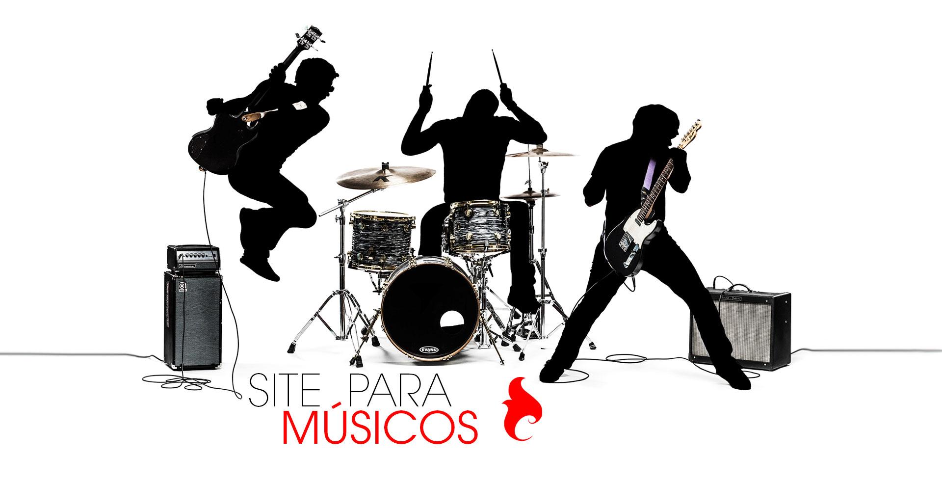 Site para Músicos